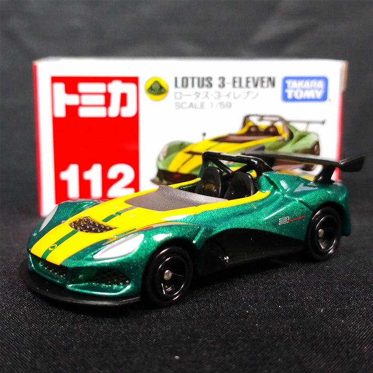 [Fast Cars Pack] Tomica Lotus Exige + Lexus IS F + Honda CR-Z Safety Car + Lotus 3-Eleven