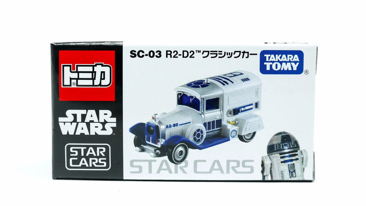 TOMICA STAR WARS SC-03 STAR CARS R2-D2 CLASSIC CAR '17