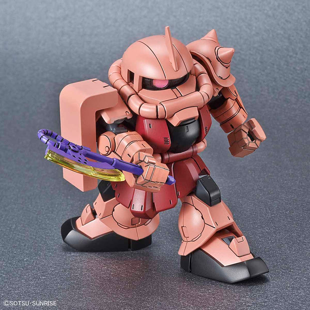 SD Gundam Cross Silhoutte MS-06S Zaku II