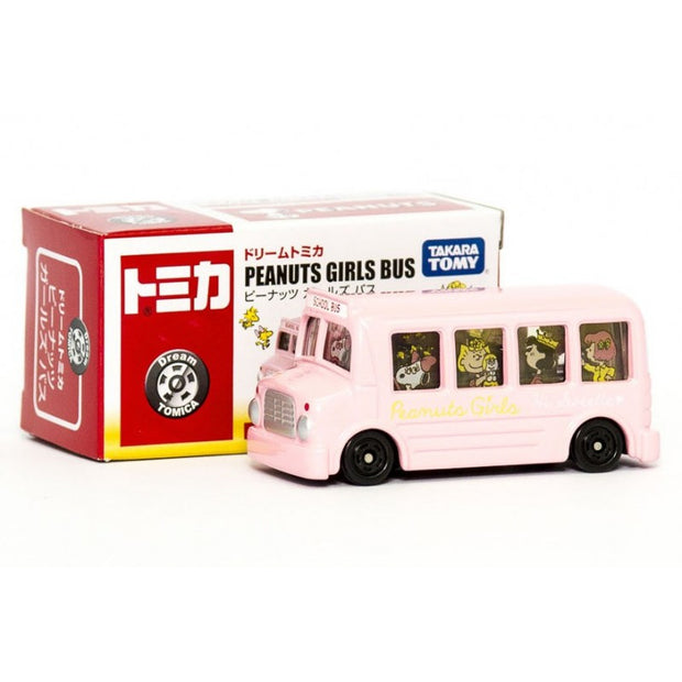 DREAM TOMICA SNOOPY GIRLS BUS