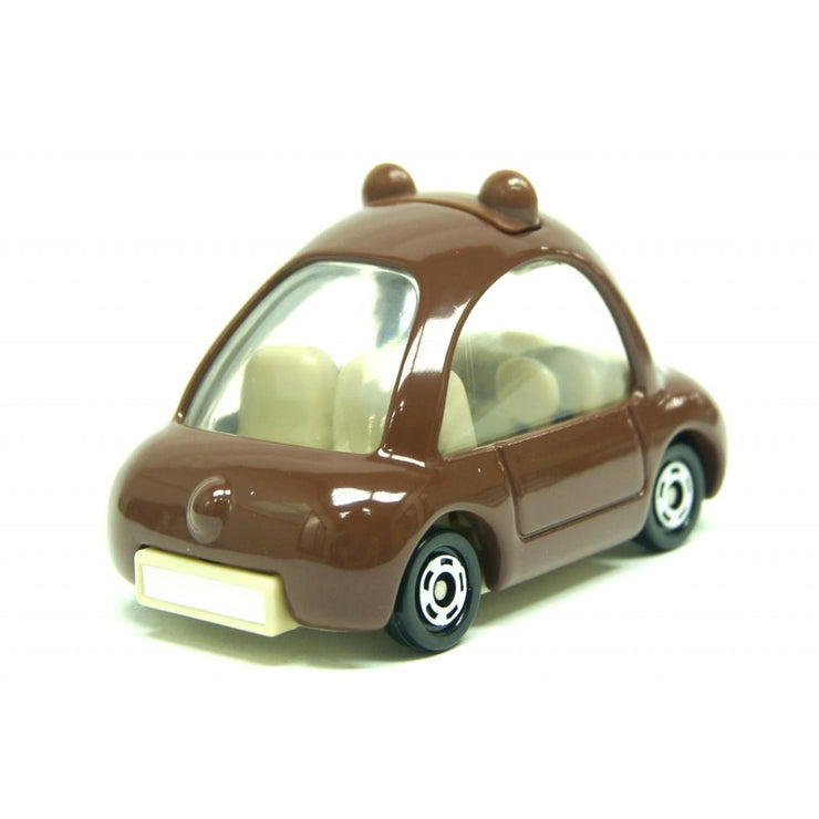 DREAM TOMICA LINE BROWN CAR FOR ASIA