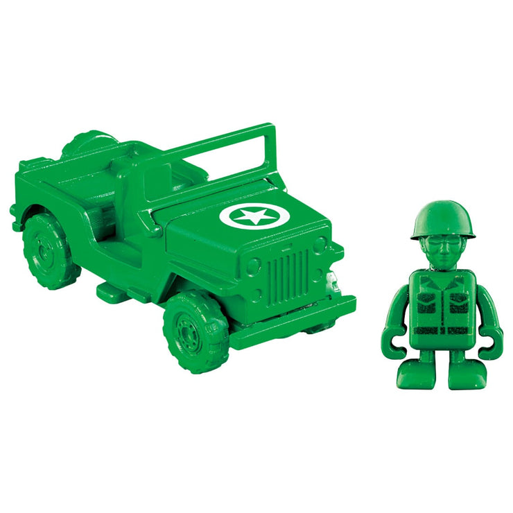 Tomica Toy Story Green Army Men & Military Motor