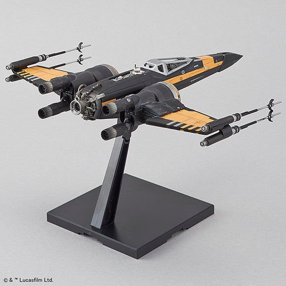 STAR WARS 1/72 POE'S BOOSTED X-WING FIGHTER