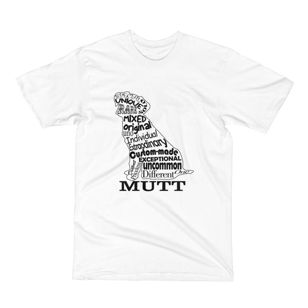 Mutt Dog Short Sleeve T-Shirt