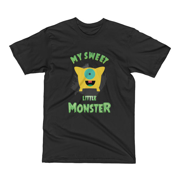 My Sweet Monster - Cat and Dog Short Sleeve T-Shirt