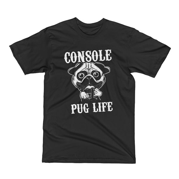 Console Pug Life Dog Short Sleeve T-Shirt