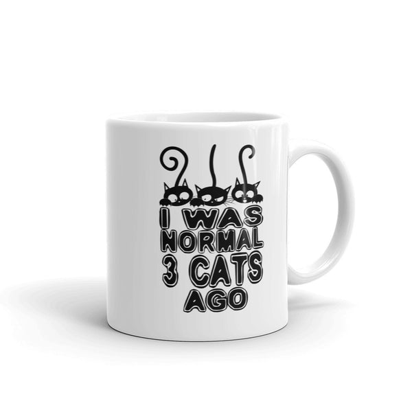 3 Cats Coffee Mug made in the USA