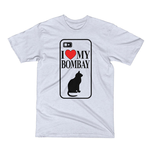 I Love My Bombay Cat Short Sleeve T-Shirt