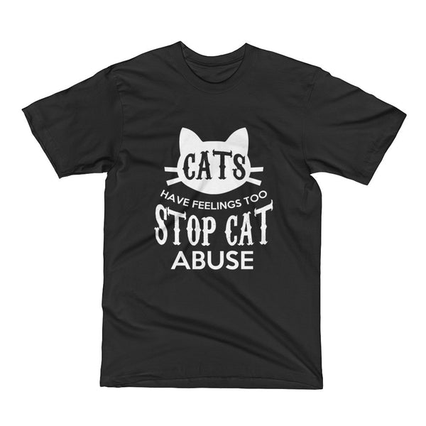 Stop Cat Abuse Short Sleeve T-Shirt