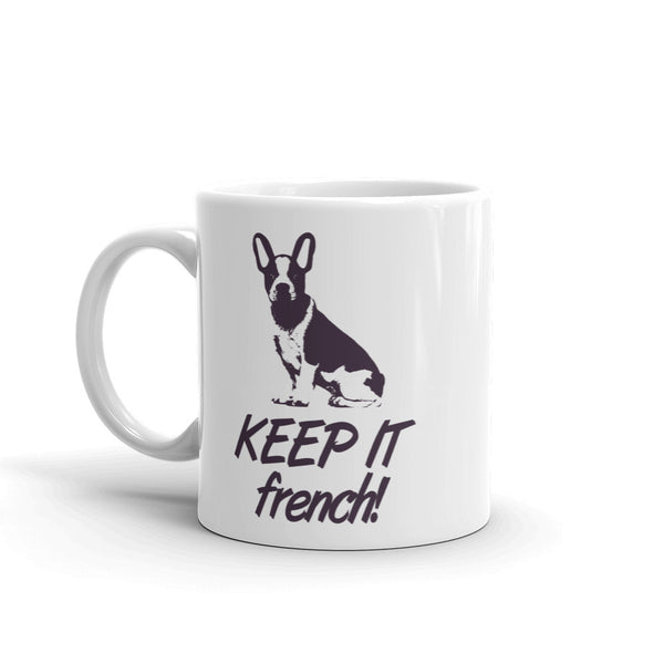 French Dog Mug made in the USA