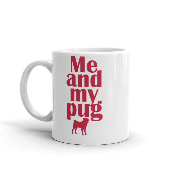Pug Coffee Mug made in the USA