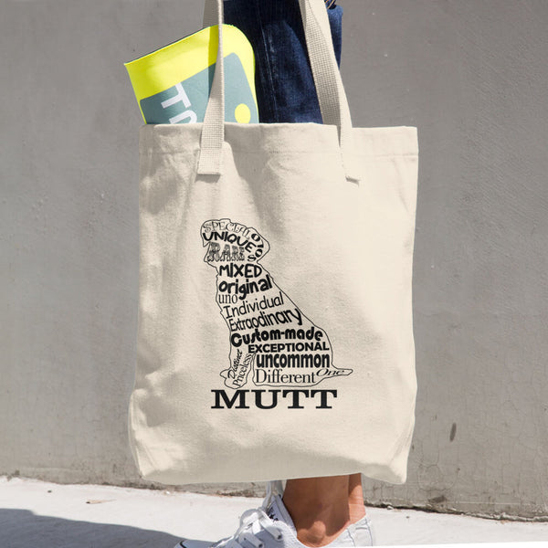Mutt Cotton Tote Bag