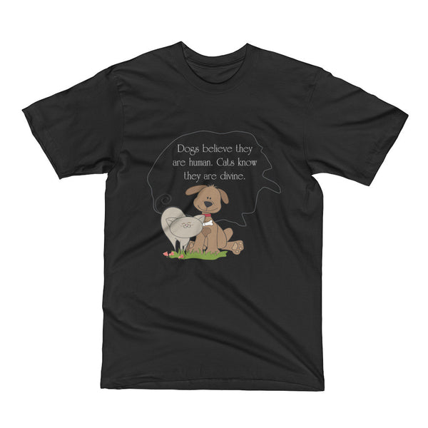 Dogs and Cats Short Sleeve T-Shirt