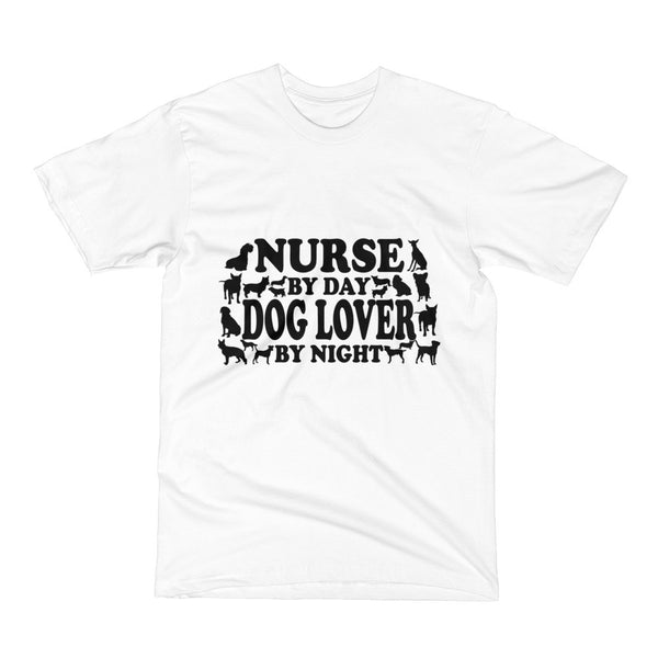 Nurse By Day Dog Lover by Night Short Sleeve T-Shirt
