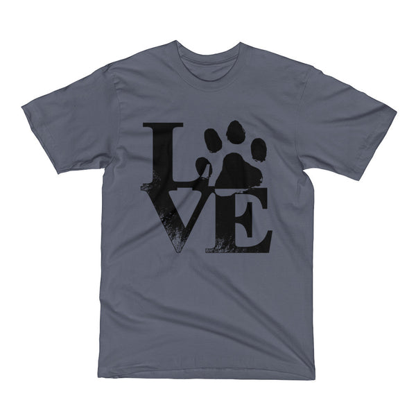 Love Cat and Dog Short Sleeve T-Shirt