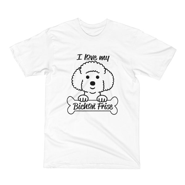 Bichon Dog Short Sleeve T-Shirt