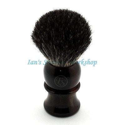 Black Badger Hair Shaving Brush BL22-FH50