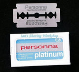 50 Pieces Personna Platinum Coated Blades