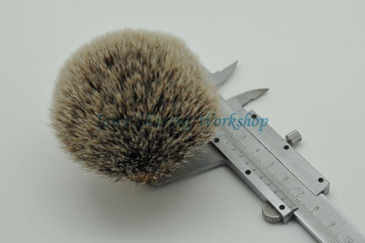 Density Silvertip Badger Hair Knot for Wet Shaving Brush 18MM-38MM