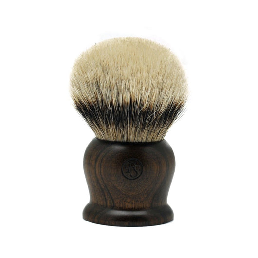 Super Density Silvertip Badger Hair Shaving Brush 40MM Knot Ebony Handle