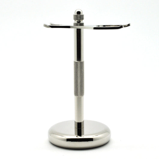 Metal Razor & Shaving Brush Stand 31# Nickel