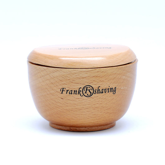 Beech Wood Shaving Bowl with Cap