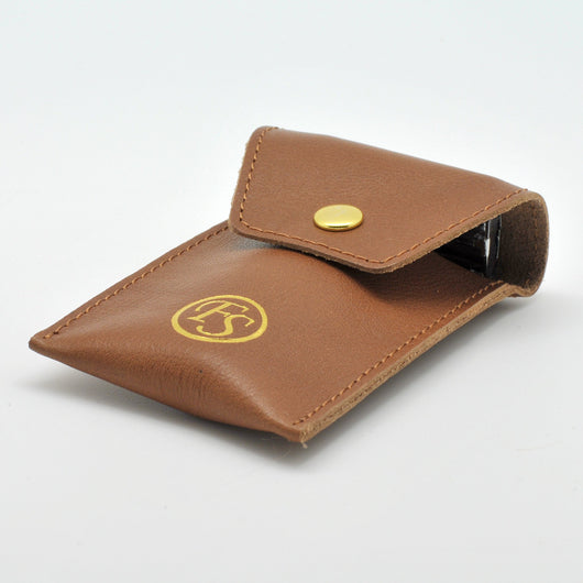 Ox/Buffalo Leather DE Razor Case