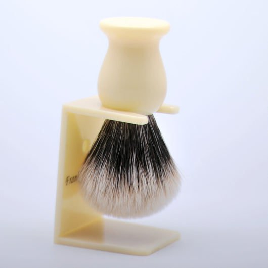 Finest Badger Hair Shaving Brush Carved Logo