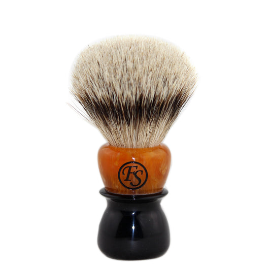 Silvertip Badger Hair Shaving Brush w/ Mixed Color Handle