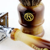 Manchurian Finest Badger Fan Shape Knot 24MM  DE Safety Razor