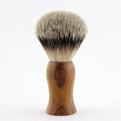100% Natural Manchurian Silvertip Badger Hair Shaving Brush MS22-EW37