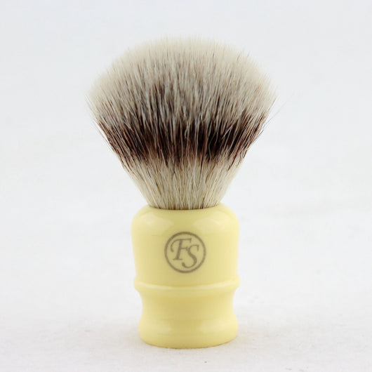 Pur Tech Synthetic Fiber Shaving Brush G4 pur-tech Ivory