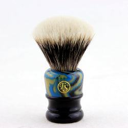 2 BAND FINEST BADGER HAIR SHAVING BRUSH MF24F-LAB26