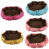 Soft Fleece Pet Dog Nest Bed Puppy Cat Warm