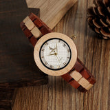 M19 Rose Sandal Wood Watch Women Minimal