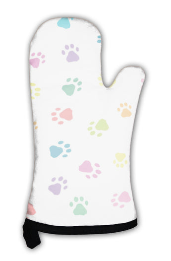 Oven Mitt, Patterns With Prints Of Animals