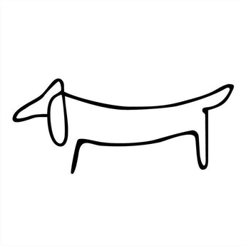Dachshund Car Sticker