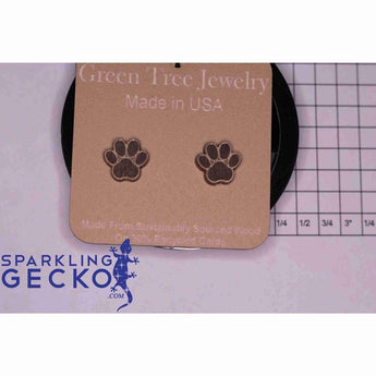 Puppy Paw Stud Earrings | Sparkling Gecko-Apparel & Accessories > Jewelry > Earrings-Sparkling Gecko