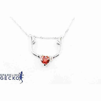 Red Wings Necklace-Apparel & Accessories > Jewelry > Necklaces-Sparkling Gecko
