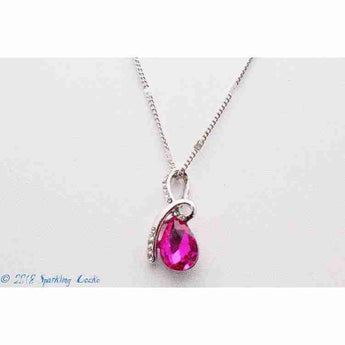 Teresa - Pink Necklace | Sparkling Gecko-Apparel & Accessories > Jewelry > Necklaces-Sparkling Gecko
