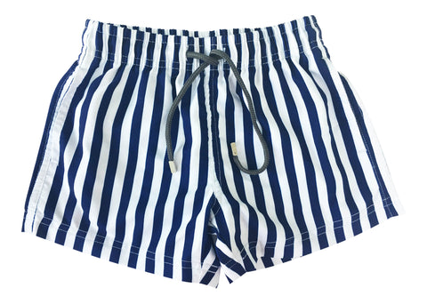 Boys Red Stripes Shorts