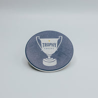 Trophy Coffee Circle Coaster