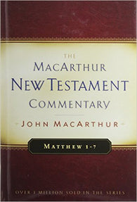 The MacArthur New Testament Commentary - Matthew 1-7