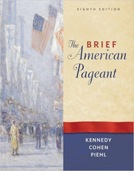 The Brief American Pageant 8th Edition