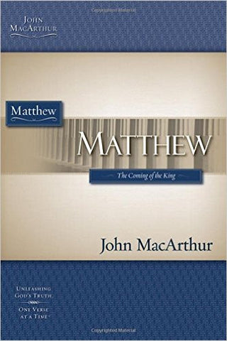 Matthew (MacArthur Bible Studies)