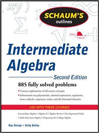 Schaum's Outline of Intermediate Algebra, Second Edition (Schaum's Outlines) 2nd Edition