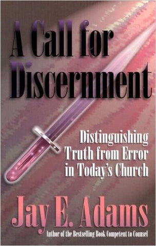 A Call for Discernment