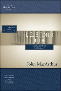 1, 2, 3 John and Jude (MacArthur Bible Studies)