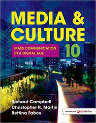 Media & Culture: Mass Communication in a Digital Age (2016 Update)