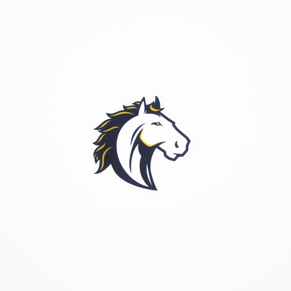 Athletics Mustang Sticker
